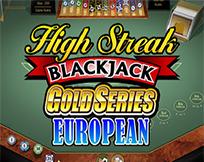 High Streak Euro Blackjack Gold